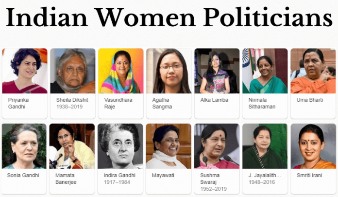 List of The First Woman Of India In Politics (Woman Politicians)