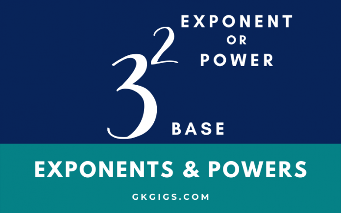 Exponents And Powers Multiple Choice Questions