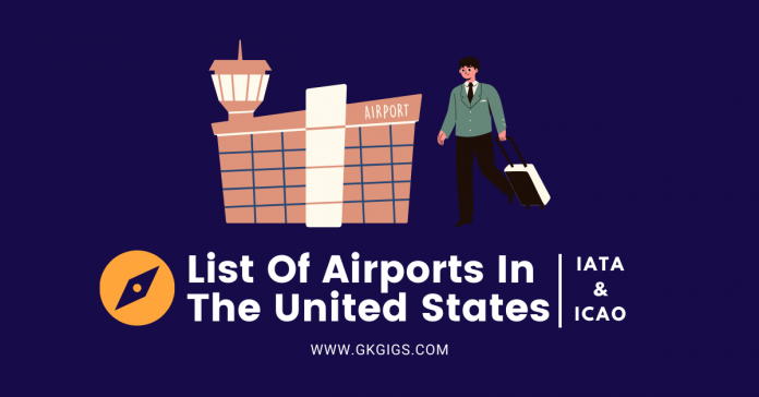 List Of Airports In The US