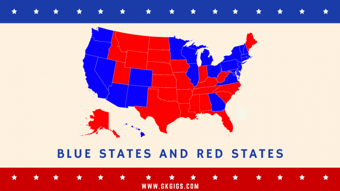 Blue States And Red States